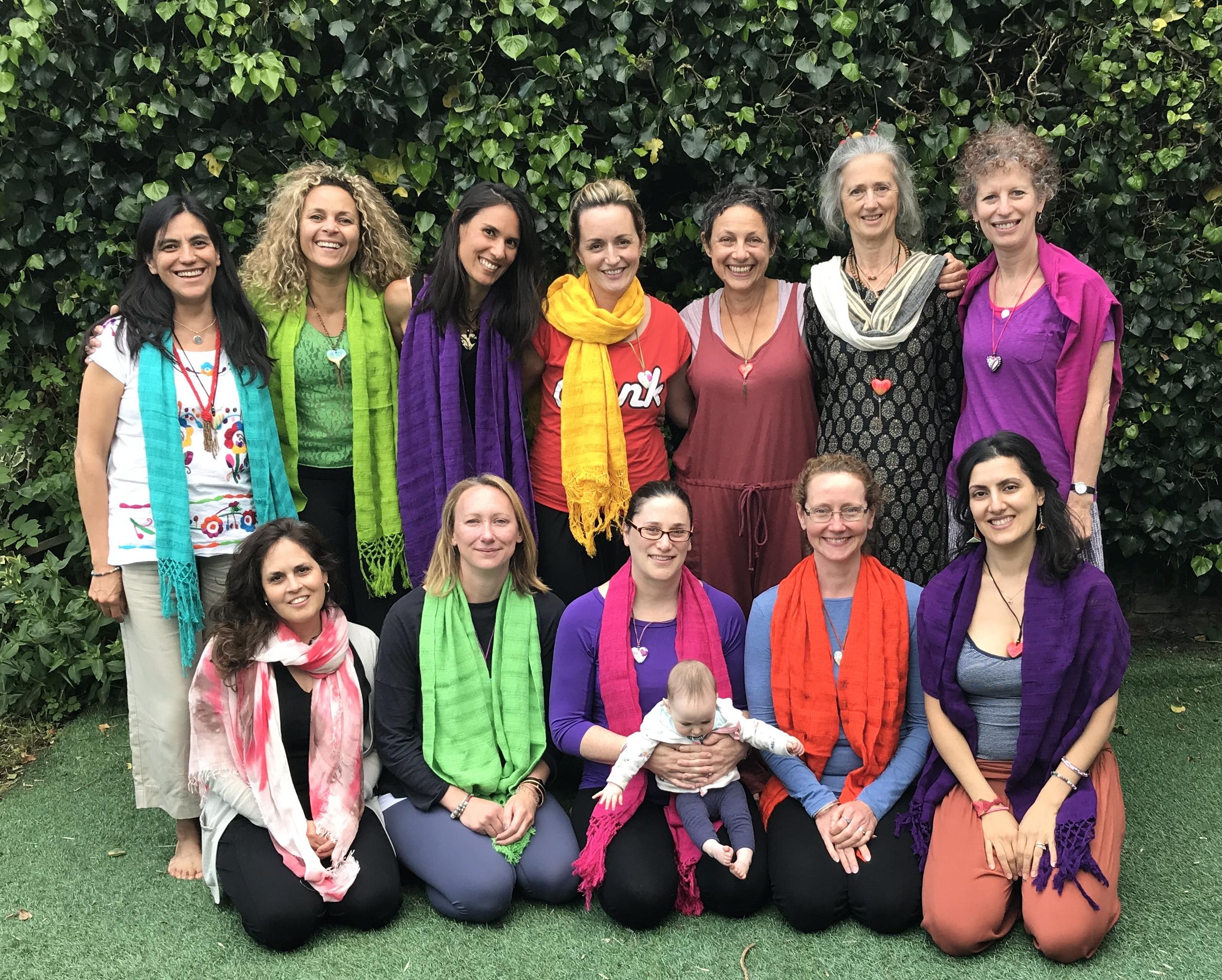 YogaBirth Teachers 2017