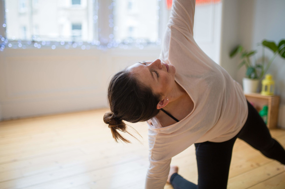 YogaBirth Teacher Training - Pregnancy Yoga Kneeling