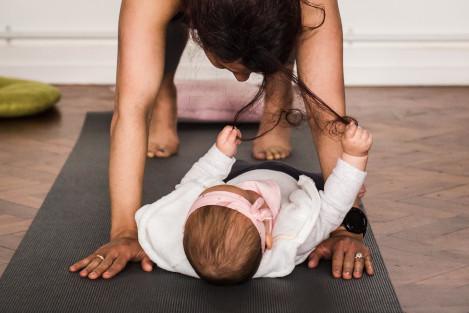 Postnatal Yoga Class Moving